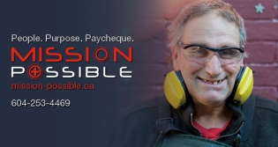 Mission Possible Donation Card