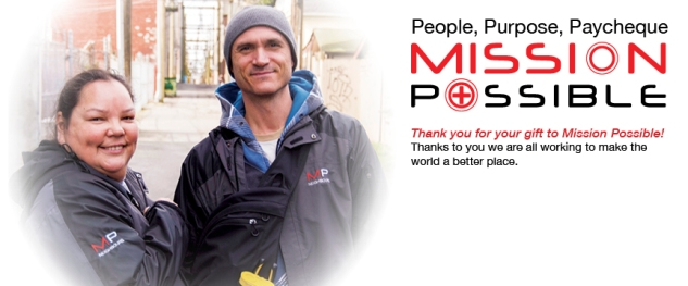 Mission Possible Thank You Cards